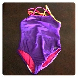 Girls Speedo Swimsuit size 8